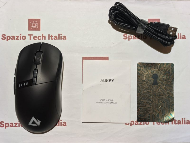 Aukey GM-F5 Wireless Gaming Mouse RGB