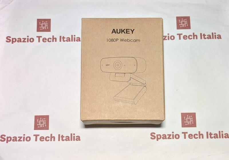 Aukey Webcam 1080p Full HD con Microfono Stereo PC-W3