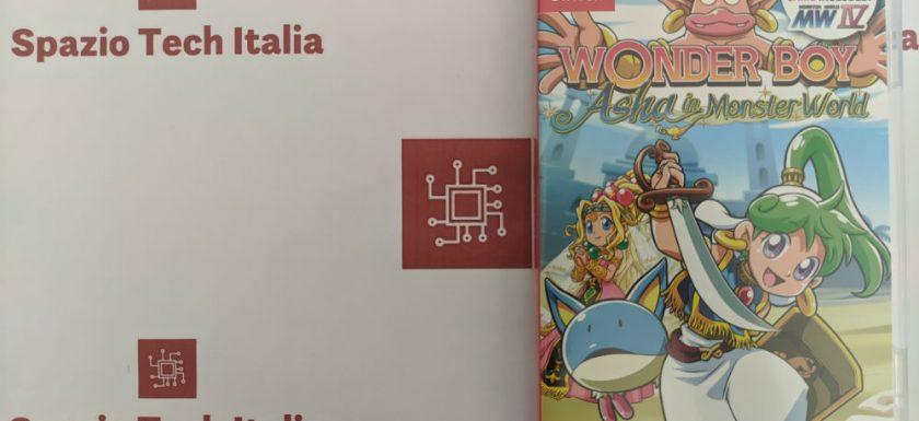 Wonder Boy Asha in monster world Switch