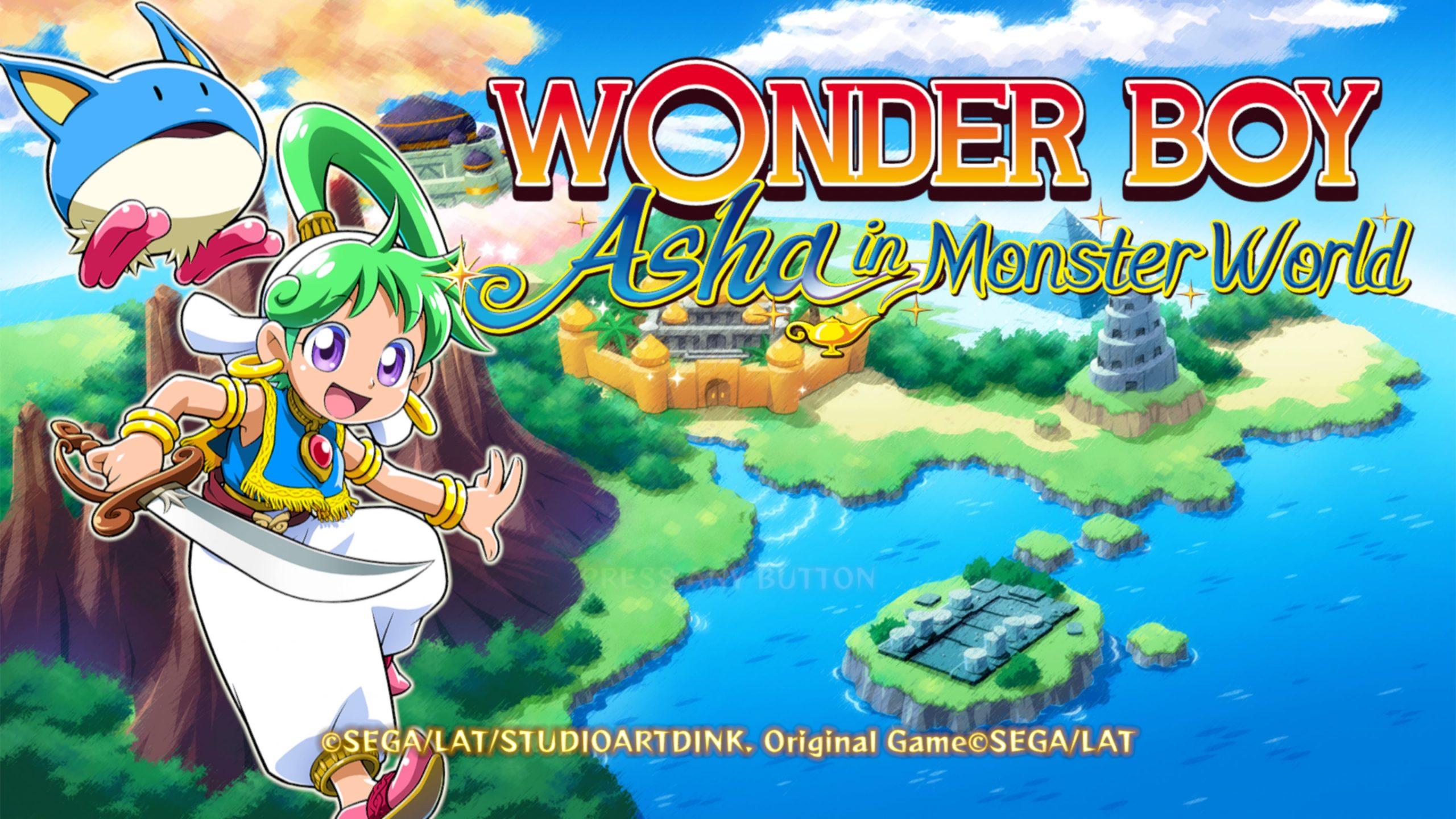 """Wonder Boy: Asha in Monster World"" per PS4"